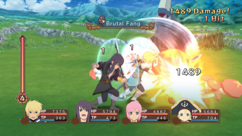 The Tales of Vesperia: Definitive Edition game is available Jan. 11. (Graphic: Business Wire)