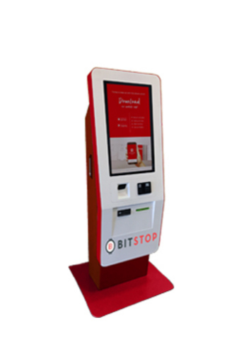 Bitstop Bitcoin ATM (Photo: Business Wire)