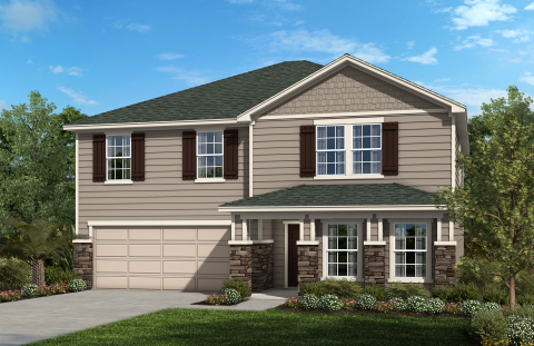 New KB homes are now available in Jacksonville. (Photo: Business Wire)