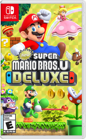 New Super Mario Bros. U Deluxe contains New Super Mario Bros. U and the more challenging New Super Luigi U – two full games with a ton of high-quality content. (Graphic: Business Wire)