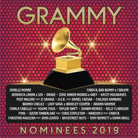 2019 GRAMMY Nominees Album cover art. (Graphic: Business Wire)