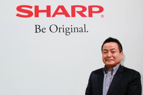 夏普执行副总裁兼AIoT业务战略办公室负责人Bob Ishida(照片:美国商业资讯)