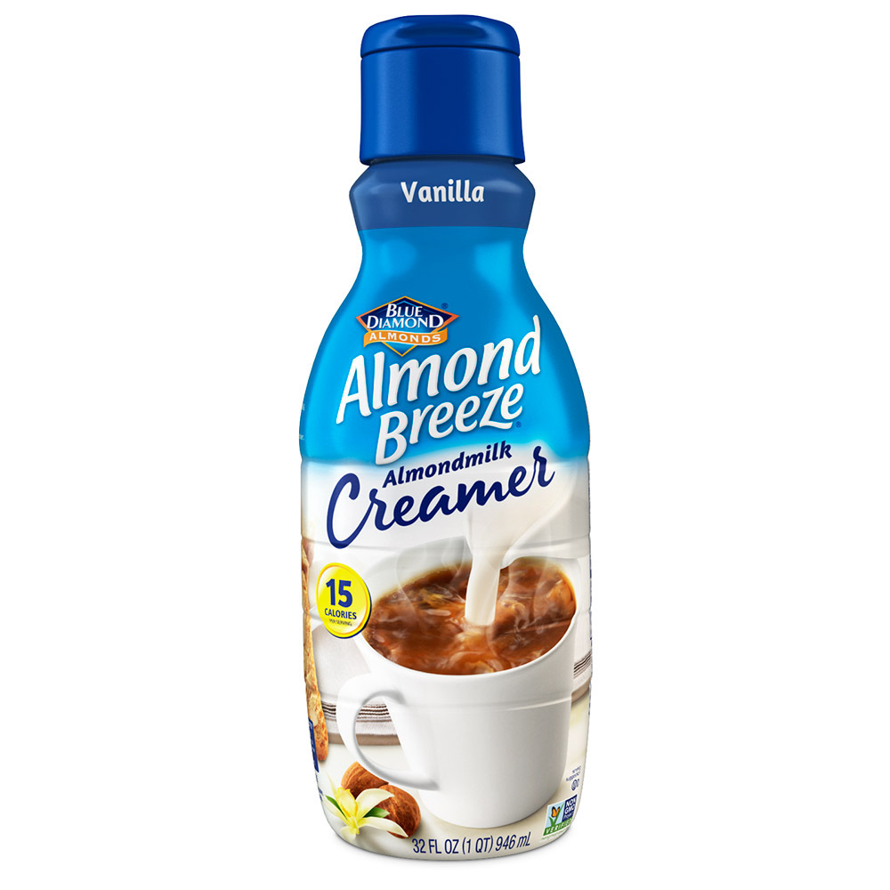 Blue Diamond Launches Two Almond Breeze Products Embraces