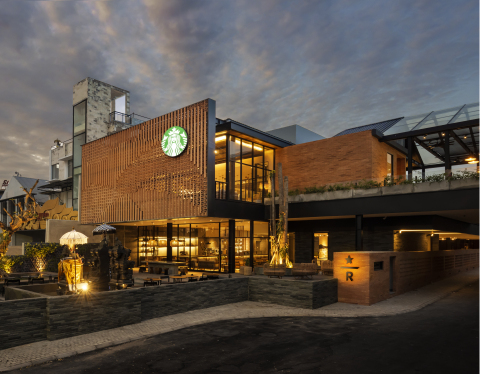 Located in Bali's up-and-coming premium retail district on Sunset Road, the more than 20,000 square feet Coffee Sanctuary is the largest Starbucks destination in Southeast Asia. Starbucks Dewata Coffee Sanctuary is a one-of-a-kind hands-on coffee experience, inviting customers to embark on the seed-to-cup journey in one of coffee's most extraordinary origin regions and one of Asia's top travel destinations. (Photo: Business Wire)
