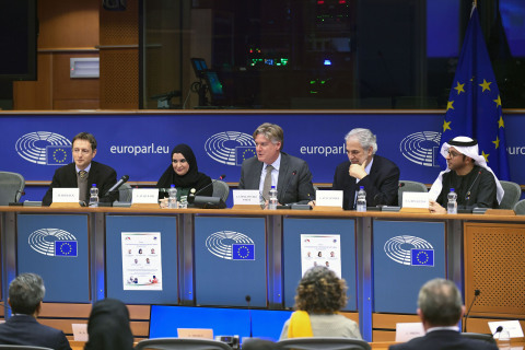 From Humanitarian Aid for Stability UAE and EU together seminar (Photo: AETOSWire)