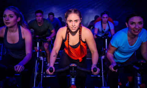 Cycling is one of the many popular group exercise programs available at 24 Hour Fitness clubs nationwide. (Photo: Business Wire)