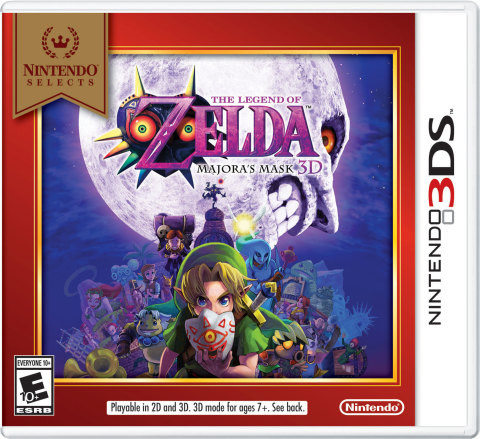 The Legend of Zelda: Majora's Mask 3D game brings Link's classic adventure to Nintendo 3DS. This remastered and enhanced version features a cast of memorable characters, unforgettable gameplay and a dark and mysterious story. (Graphic: Business Wire)