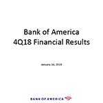 Q4 2018 Bank of America Investor Relations Presentation