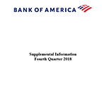 Q4 2018 Bank of America Supplemental Information