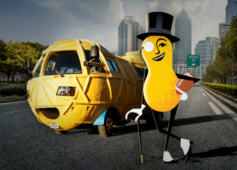 MR. PEANUT and his NUTmobile (Photo: Business Wire)