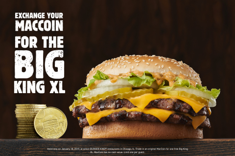 The New BIG KING XL Sandwich at BURGER KING® Restaurants Outsizes the Competition (Photo: Business Wire)