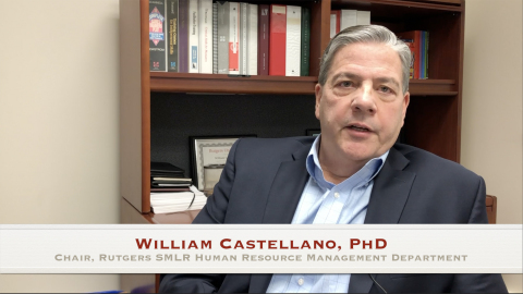 William G. Castellano, Chair of the Department of Human Resource Management at Rutgers SMLR, on the benefits of a Master's in Human Resource Management (MHRM). (Photo: Business Wire)