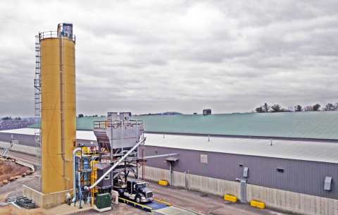 Charah Solutions MultiCem Slag Cement Plant (Photo: Business Wire)