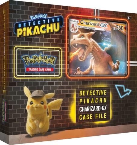POKÉMON Detective Pikachu TCG Charizard-GX Case File (Photo: Business Wire)
