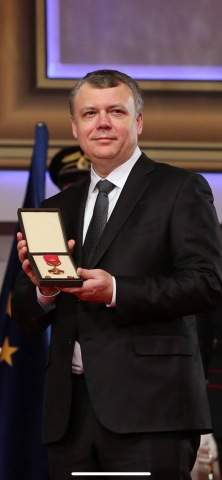 Tachyum CEO Awarded Pribina Cross (Photo: Business Wire)