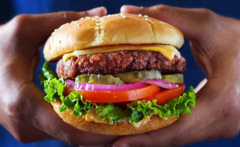 The Don Lee Farms Organic Plant-Based Burger (Photo: Business Wire)