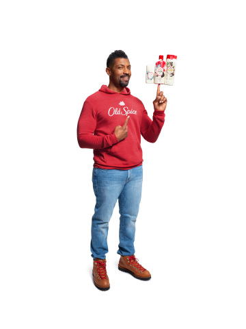 """Celebrating the all-new Fresher Collection, Old Spice reveals a 'fresh' new face and Old Spice Guy, actor/comedian/writer Deon Cole (Black-ish, Grown-ish) who takes on a coveted role as a global ambassador. Cole will debut in """"Running on Empty,"""" the first spot from the new """"Men Have Skin Too"""" advertising campaign premiering on television nationwide January 20 during the NFL Conference Championship Games. (Photo: Business Wire)"""