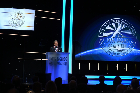 Kenn Ricci, Principal of Directional Aviation, was named a Living Legend of Aviation Friday, January 18, 2019 at the Beverly Hilton in Beverly Hills, CA. (Photo: Business Wire)