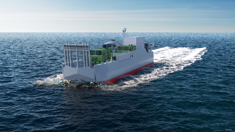 CNIM is to equip the French Navy with 14 new Standard Amphibious Landing Craft (EDA-S) - (c) CNIM
