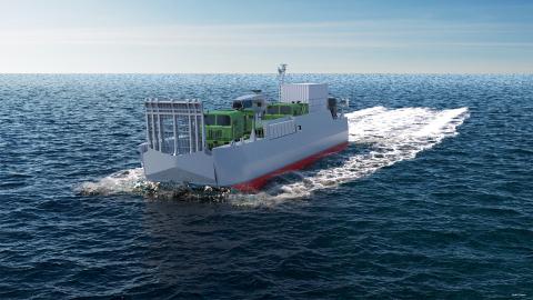 CNIM dotera la Marine Nationale de 14 nouveaux engins de débarquement amphibie standards (EDA-S) - (c) CNIM