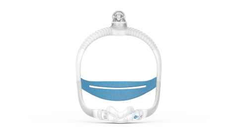 AirFit N30i nasal CPAP mask, front view (Photo: Business Wire)