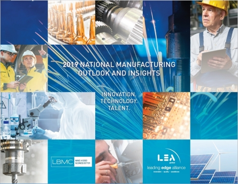 LBMC and LEA 2019 National Manufacturing Trends Report (Photo: Business Wire)
