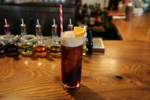 Consumers are buzzing with coffee-based drinks, like this cocktail that features cold brew coffee and coffee stout, along with Campari, tonic, and vanilla. (Photo: Business Wire)