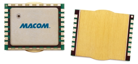 The new MAMG-100227-010 leverages high-performance MACOM GaN-on-Si to achieve an extremely wide freq ...