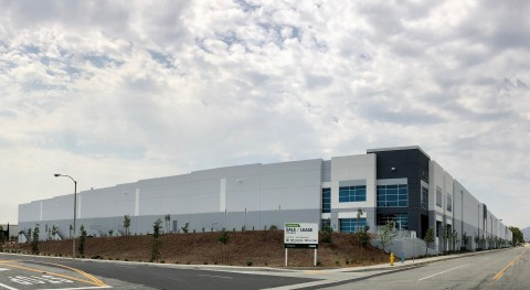 Exterior image of Class A Property at 4982 Hallmark Parkway, San Bernardino, CA (Photo: Business Wire)