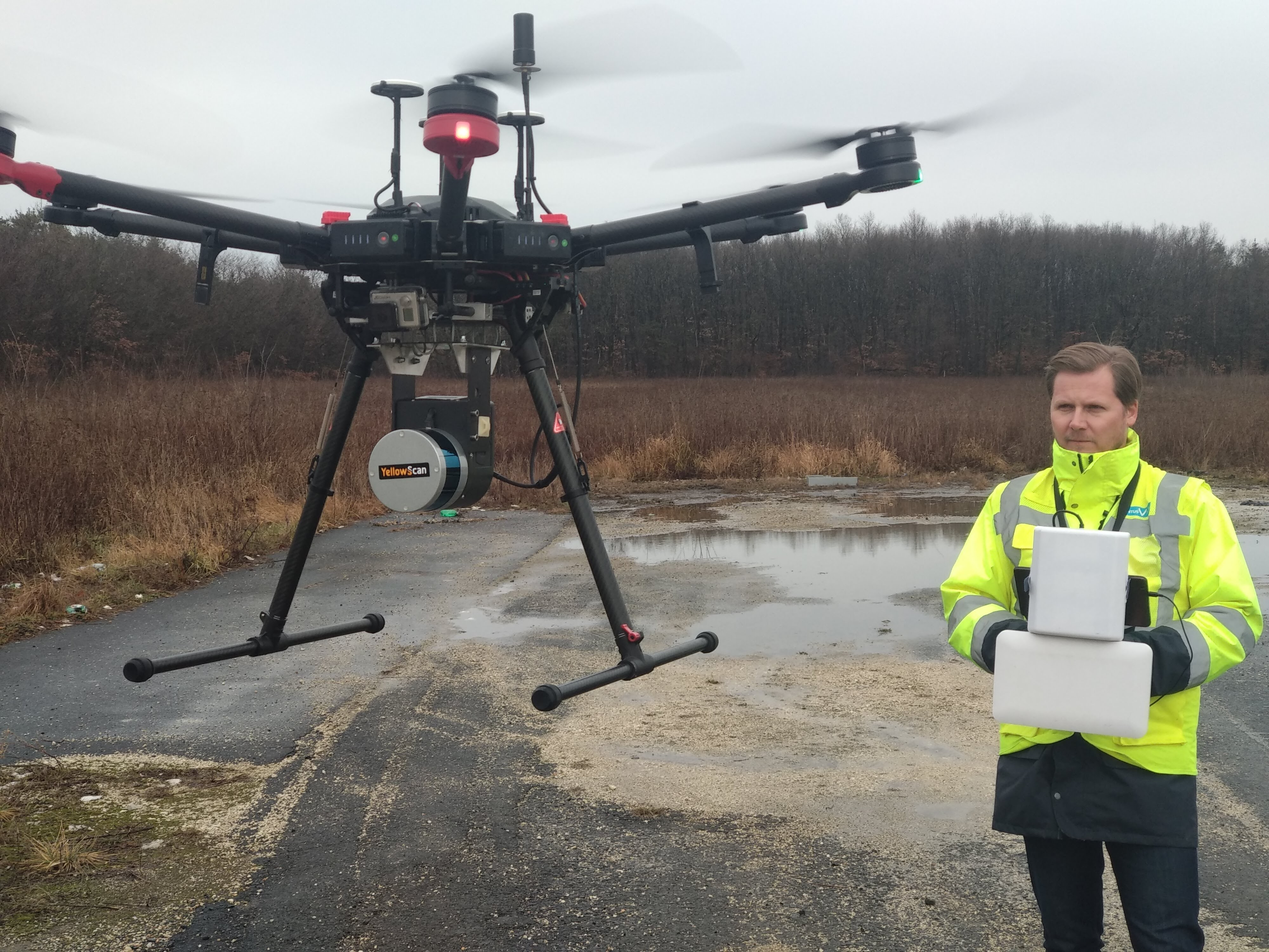Velodyne Lidar and YellowScan Lead Drone Surveying Market for