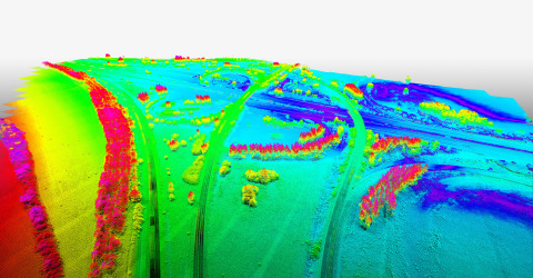 YellowScan Surveyor, which includes Velodyne Lidar's Puck™, allowed Ventus-Tech to supply very detailed 3D data that accurately depicted the landscape. (Photo: Business Wire)