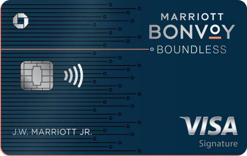 Marriott Bonvoy Boundless Credit Card from Chase (Photo: Business Wire)