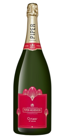 Piper-Heidsieck's limited-edition magnum to be poured exclusively during the 91st Oscars® awards ceremony and Governors Ball (Photo: Business Wire)