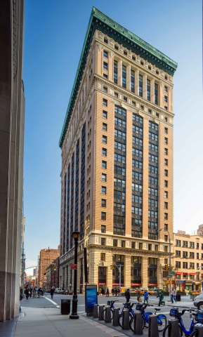 Columbia Property Trust has completed 284,000 SF of leasing at 315 Park Avenue S. in Midtown South Manhattan, putting the repositioned office building at 99% leased. Photo: Alan Schindler