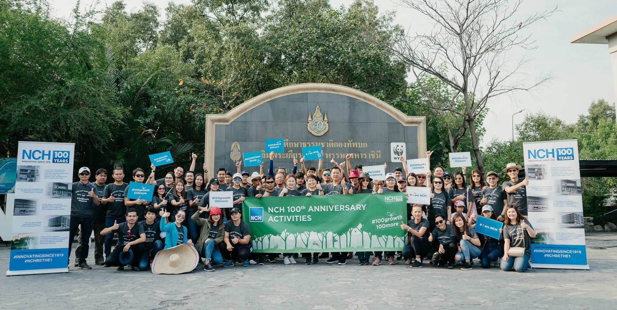f4574f5e5ea9 NCH Thailand s Mangrove Reforestation Activity to Celebrate Its 100th  Anniversary