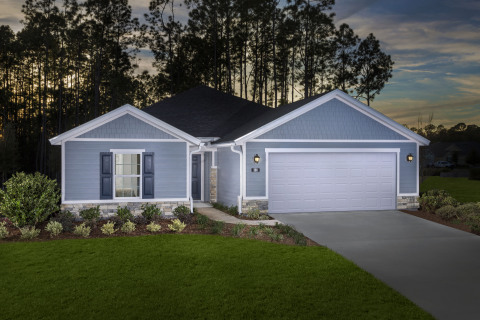 KB Home debuts the KB Smart Home System with Google technology in Jacksonville. (Photo: Business Wir ...