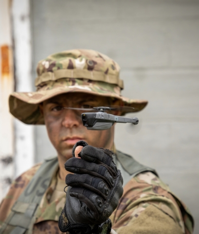 FLIR Systems has been awarded a contract to deliver Black Hornet Personal Reconnaissance Systems for the United States Army's Soldier Borne Sensor program. The nano-unmanned aerial vehicle systems will support platoon and small unit level surveillance and reconnaissance capabilities. (Photo: Business Wire)