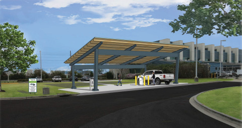 Ingevity has completed the construction of a low-pressure adsorbed natural gas (ANG) fueling station ...