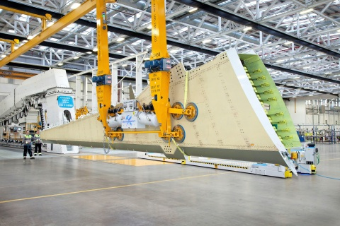 Wing Production at Bombardier Belfast (Photo: Business Wire)
