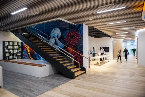 Avanade, the leading digital innovator on the Microsoft ecosystem, has outfitted its new office with an Aruba mobile-first network. (Photo: Business Wire)