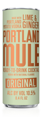 Eastside Distilling Launches Portland Mule Ready-to-Drink Cocktail. The Portland Mule is the perfect balance of sweet and spicy Portland Soda with premium four times distilled Portland Potato Vodka, real lime juice and a very light touch of natural cane sugar. (Photo: Business Wire)