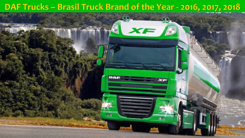 DAF Trucks – Brasil Truck Brand of the Year – 2016, 2017, 2018 (Photo: Business Wire)