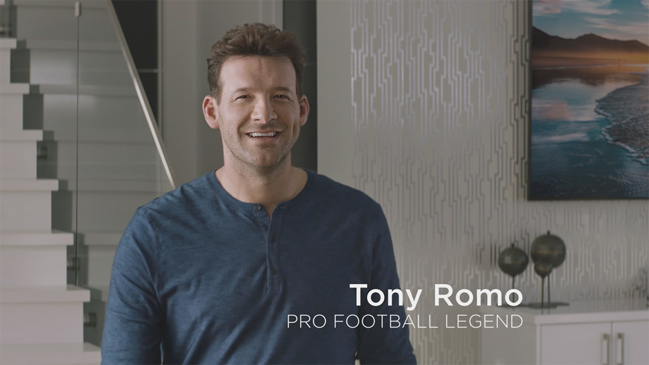 Legendary former quarterback and commentator Tony Romo appears in Skechers Sport ad premiering during the Big Game. (Video: Business Wire)