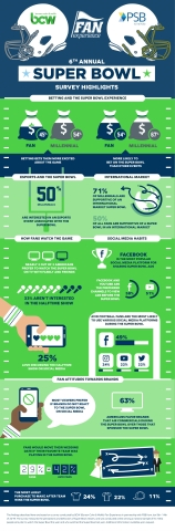 Sixth Annual Super Bowl Survey Highlights (Graphic: Business Wire)