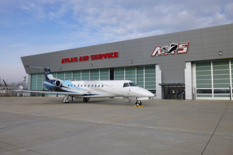 Legacy 650, Atlas Air (Photo: Business Wire)