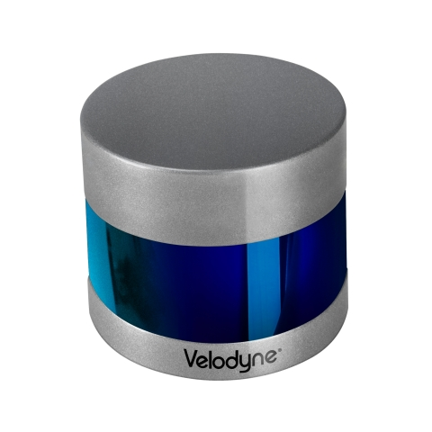 Velodyne's Puck™ and Ultra Puck™ (shown here) lidar sensors were the key perception components enabling the vessels to operate autonomously at the Maritime RobotX Challenge. (Photo: Business Wire)