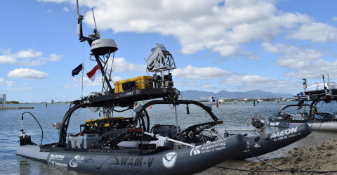 Through the Maritime RobotX Challenge, next-generation engineers learn how Velodyne lidar 3D perception empowers autonomous vessels. (Photo: Business Wire