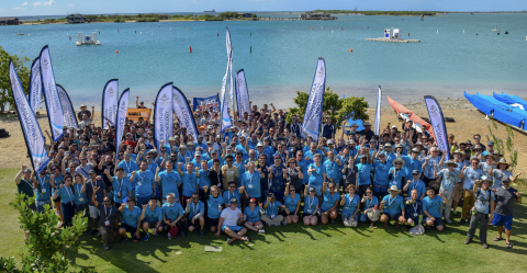 At the Maritime RobotX Challenge, Velodyne Lidar contributed mentorship and lidar sensors to 15 university teams competing in an autonomous maritime competition. (Photo: Business Wire)