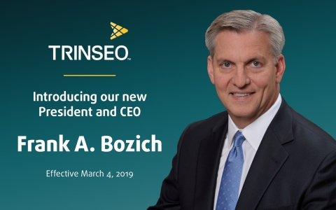 Frank A. Bozich has been named President and CEO, Trinseo, effective March 4, 2019. (Photo: Business ...
