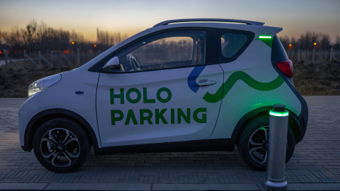 Powered by Velodyne Lidar sensors, HoloParking is China's first smart valet parking solution and makes the parking process easy and stress-free for drivers. (Photo: Business Wire)